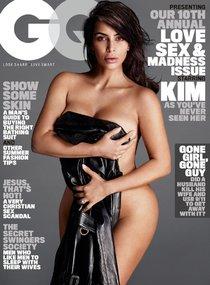 И снова здравствуйте: Ким Кардашан для «GQ Magazine Naked Photoshoot» (июнь 2016): kim-kardashian-1-4_Starbeat.ru
