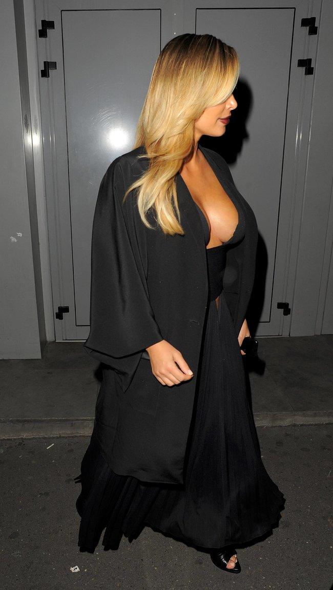 Ким Кардашьян на вечеринке в честь выхода фильма «Mademoiselle C»: kim-kardashian-71_Starbeat.ru