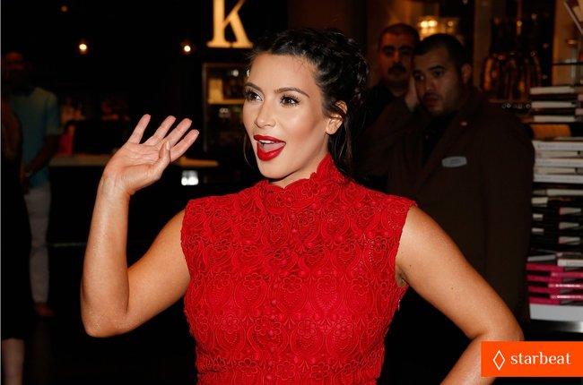 Ким Кардашьян представила свой новый аромат «Glam»: pregnant-kim-kardashian-glam-perfume-promotion-in-las-vegas-08_Starbeat.ru