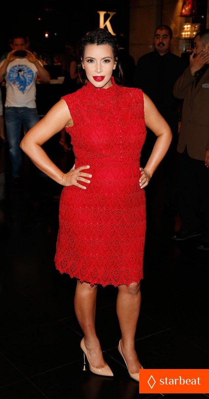 Ким Кардашьян представила свой новый аромат «Glam»: pregnant-kim-kardashian-glam-perfume-promotion-in-las-vegas-16_Starbeat.ru