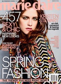Кристен Стюарт на обложке журнала «Marie Claire US» (март 2014): kristen-stewart-marie-claire-us--06_Starbeat.ru