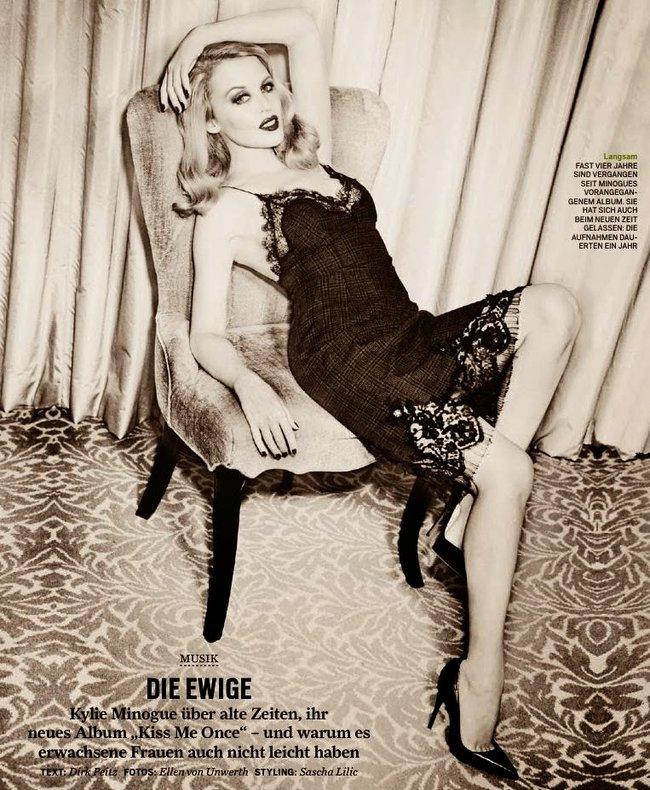 Кайли Миног в свежем номере журнала «GQ Germany» (апрель 2014): kylie-minogue-gq-germany--02_Starbeat.ru