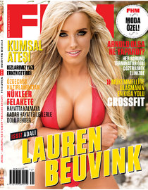 Мужской журнал «FHM Turkey» в марте: Лорин Беувинк (Lauren Beuvink): lauren-beuvink-fhm-turkey--05_Starbeat.ru