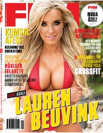 Мужской журнал «FHM Turkey» в марте: Лорин Беувинк (Lauren Beuvink): lauren-beuvink-fhm-turkey--05_Starbeat.ru