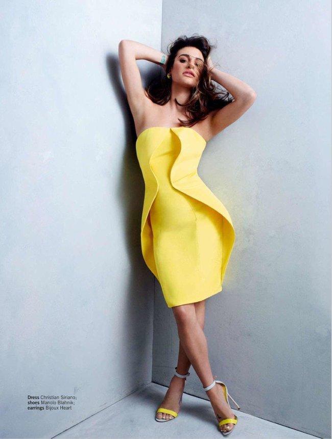 «Glamour UK» в апреле: заводная красотка Леа Мишель: lea-michele-glamour-uk--08_Starbeat.ru