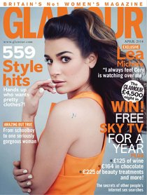 «Glamour UK» в апреле: заводная красотка Леа Мишель: lea-michele-glamour-uk--12_Starbeat.ru