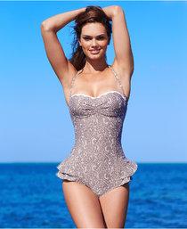 Бразильская модель Лизалла Монтенегро в рекламе купальников от «Macy's»: lisalla-montenegro-macys-swimwear-2013--01_Starbeat.ru