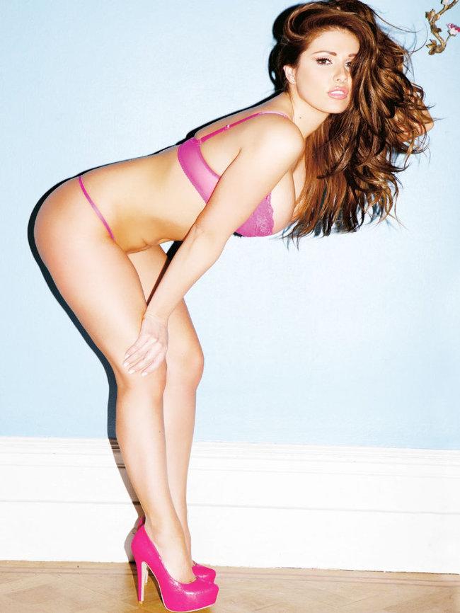 Британская модель Люси Пиндер в коллекционном издании «Nuts»: 06-lucy-pinder-6_Starbeat.ru