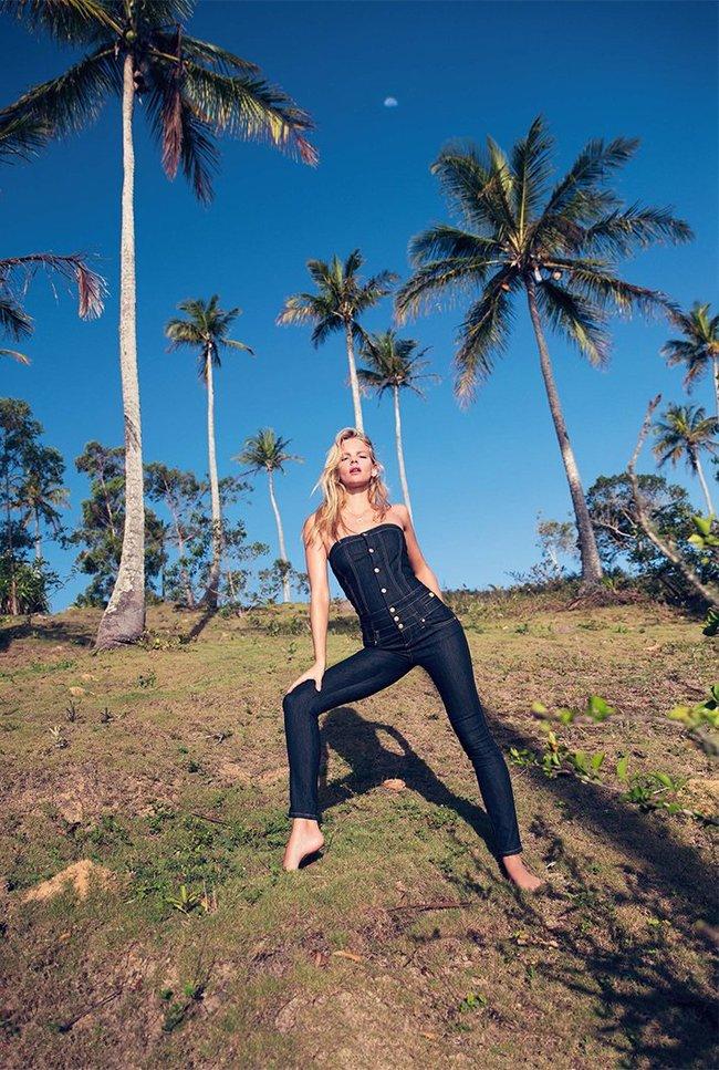 Марло Хорст кидает кости на пляже: две сиськи идут уже в базовой комплектации! Marie Claire Italy Magazine (июнь 2016): marloes-horst-23_Starbeat.ru