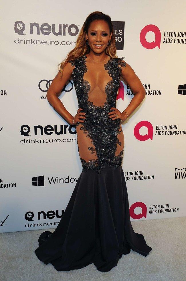 Мелани Браун на вечеринке Элтона Джона «AIDS Foundation Academy Awards»: melanie-brown-oscar-2014---vanity-fair-party--01_Starbeat.ru