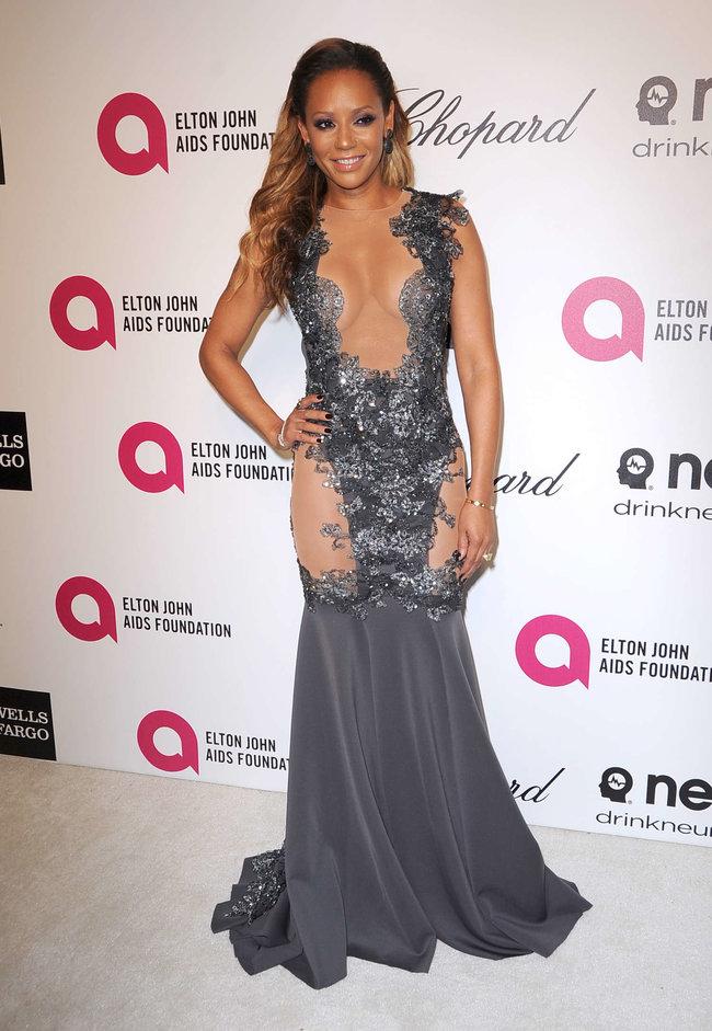 Мелани Браун на вечеринке Элтона Джона «AIDS Foundation Academy Awards»: melanie-brown-oscar-2014---vanity-fair-party--05_Starbeat.ru
