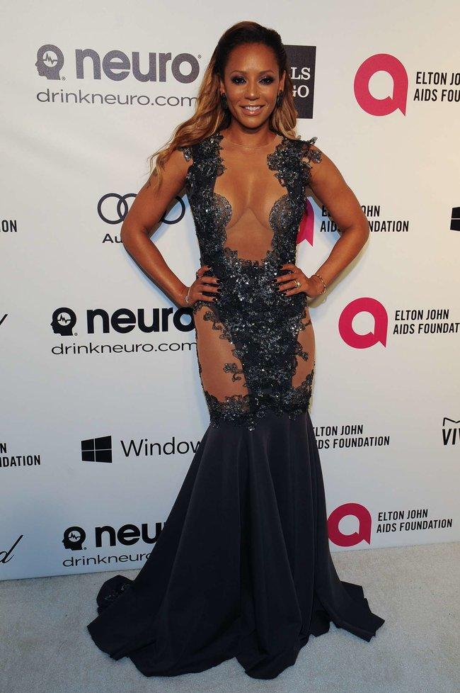 Мелани Браун на вечеринке Элтона Джона «AIDS Foundation Academy Awards»: melanie-brown-oscar-2014---vanity-fair-party--06_Starbeat.ru