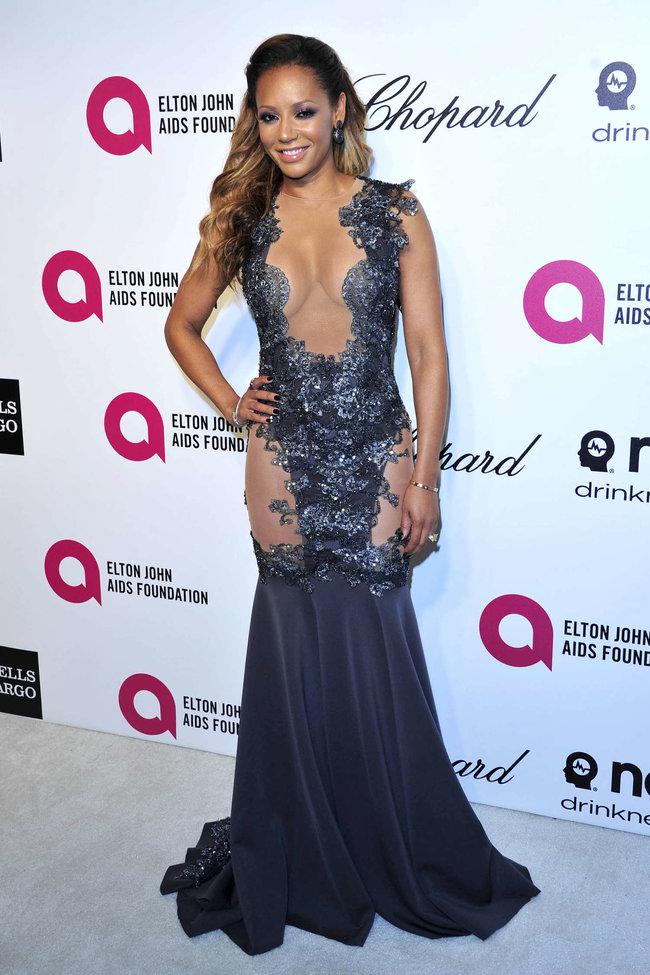 Мелани Браун на вечеринке Элтона Джона «AIDS Foundation Academy Awards»: melanie-brown-oscar-2014---vanity-fair-party--08_Starbeat.ru
