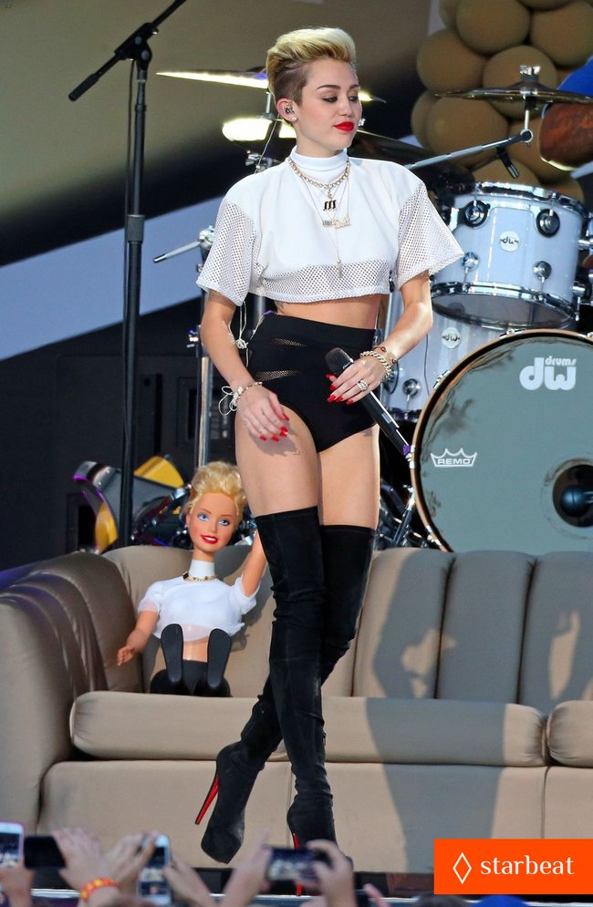 Майли Сайрус: выступление на шоу «Jimmy Kimmel Live»: miley-cyrus-jimmy-kimmel-live-performance-watch-now-17_Starbeat.ru