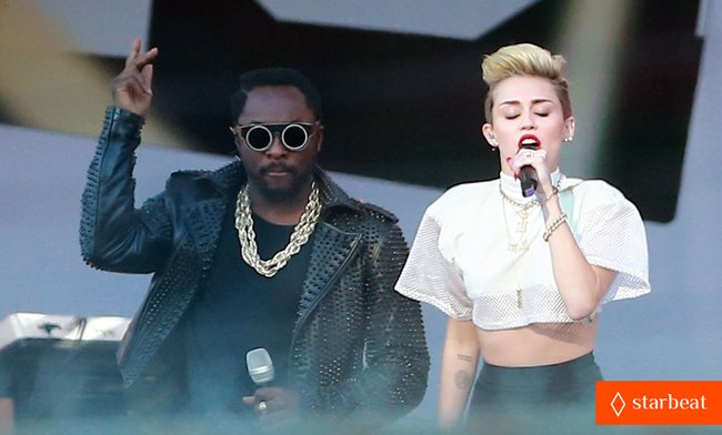 Майли Сайрус: выступление на шоу «Jimmy Kimmel Live»: miley-cyrus-jimmy-kimmel-live-performance-watch-now-22_Starbeat.ru