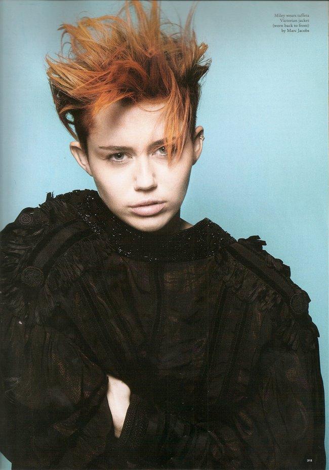 Майли Сайрус на страницах февральского выпуска журнала «Love»: miley-cyrus-love-magazine--02_Starbeat.ru