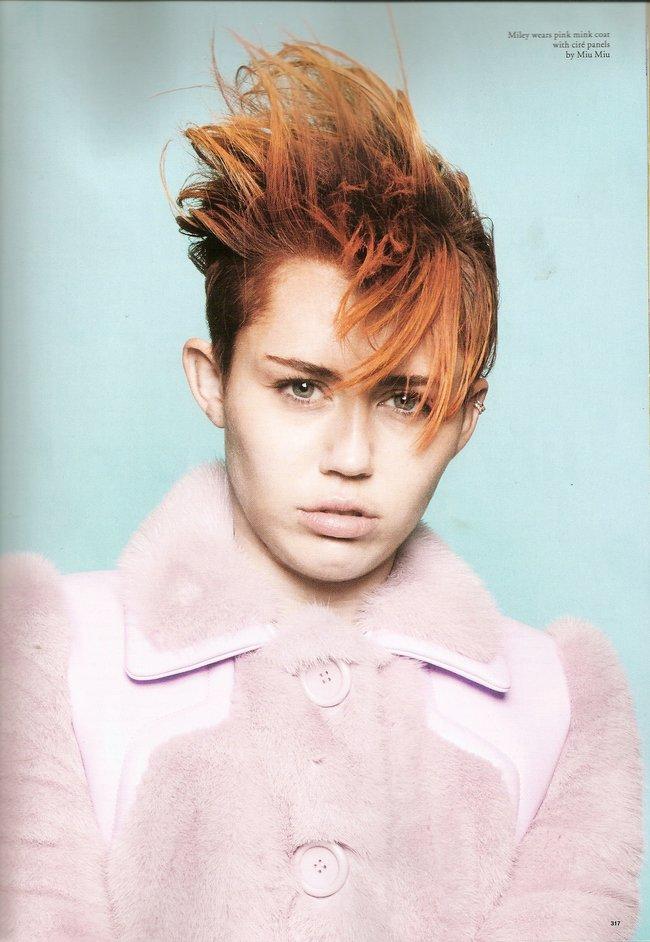 Майли Сайрус на страницах февральского выпуска журнала «Love»: miley-cyrus-love-magazine--05_Starbeat.ru