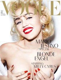 Топлесс-фотосессия в мартовском «Vogue Germany»: Майли Сайрус: miley-cyrus-24_Starbeat.ru