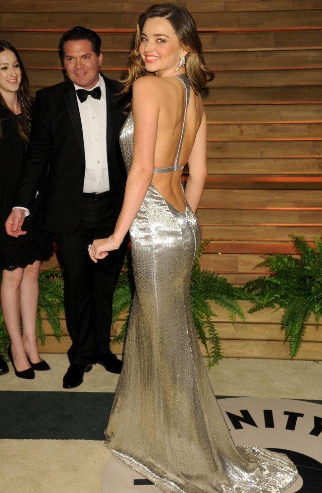 Миранда Керр в Голливуде: красная дорожка вечера «Vanity Fair»