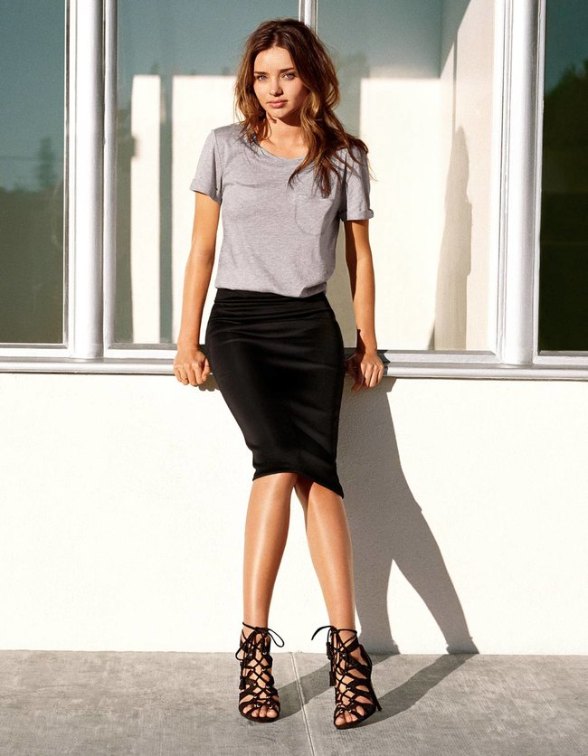 Миранда Керр в весеннем лукбуке бренда «H&M» (2014): miranda-kerr-22_Starbeat.ru