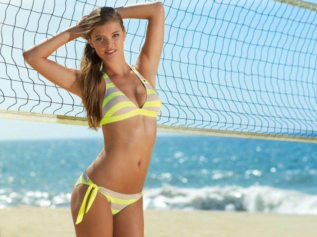 Нина Агдал в бикини: реклама купальников «Banana Moon»: nina-agdal-101_Starbeat.ru