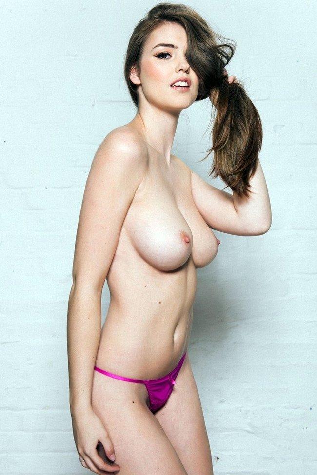 Разнокалиберные бубсы: подборка всяких женщин: rosie-danvers-3_Starbeat.ru
