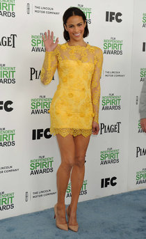 «Film Independent Spirit Awards» чествует звёзд: Пола Пэттон: paula-patton-2014-film-independent-spirit-awards--01_Starbeat.ru