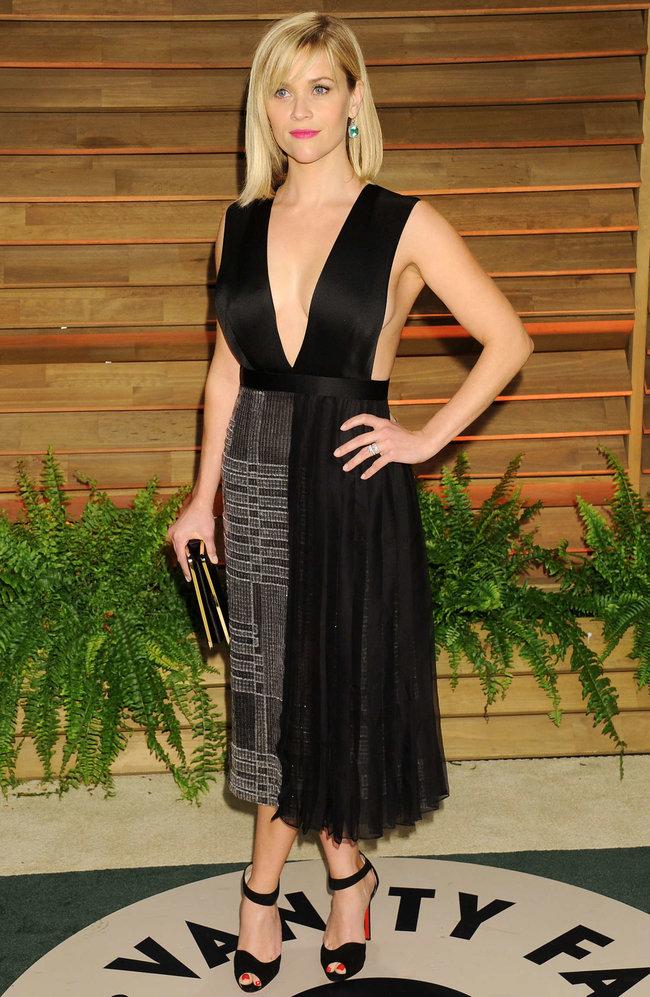 Риз Уизерспун на красной дорожке вечера журнала «Vanity Fair»