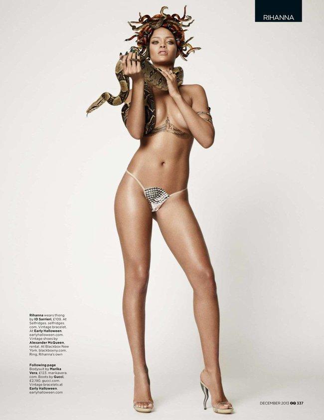 Декабрьский выпуск журнала «GQ UK» с полуобнаженной Рианной: rihanna-gq-uk-magazine--01_Starbeat.ru