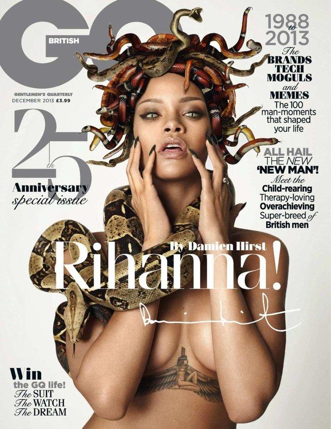Декабрьский выпуск журнала «GQ UK» с полуобнаженной Рианной: rihanna-gq-uk-magazine--03_Starbeat.ru