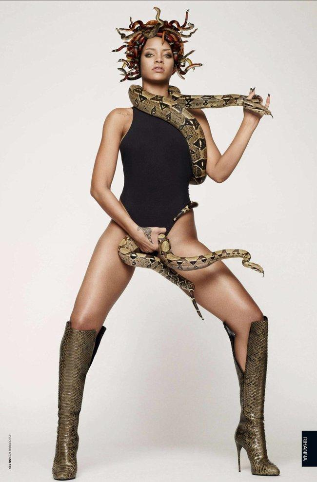 Декабрьский выпуск журнала «GQ UK» с полуобнаженной Рианной: rihanna-gq-uk-magazine--08_Starbeat.ru
