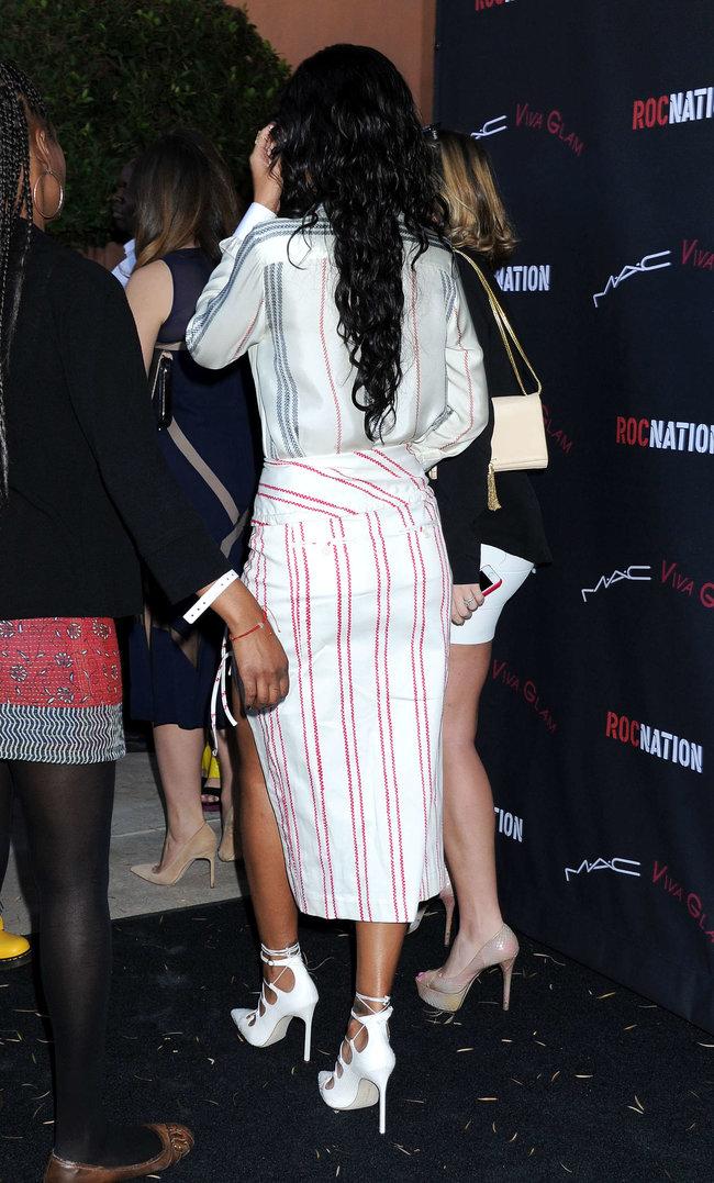 Рианна на званом ужине «Roc Nation»: в преддверии «Грэмми 2014»: rihanna-pictures-2014-pre-grammy-brunch---roc-nation--15_Starbeat.ru