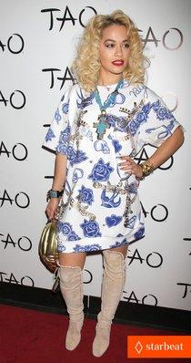 Рита Ора устроила вечеринку в Лас-Вегасе: rita-ora-tao-nightclub-host-01_Starbeat.ru