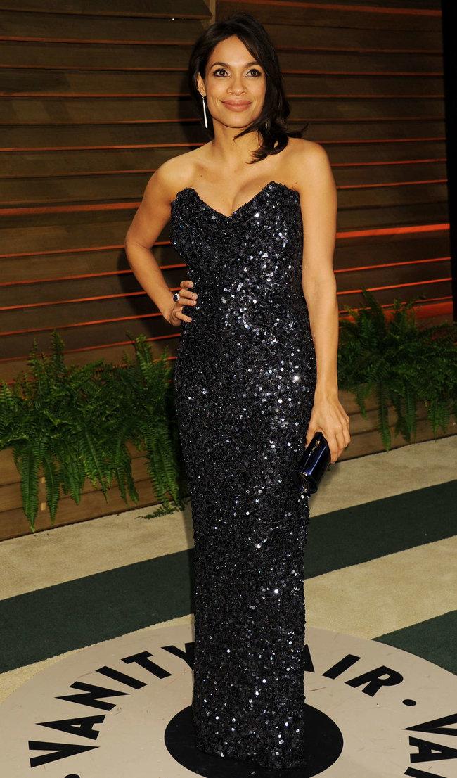 Пост-оскаровская вечеринка «Vanity Fair» в Голливуде: Розарио Доусон: rosario-dawson-oscar-2014---vanity-fair-partyi-01_Starbeat.ru