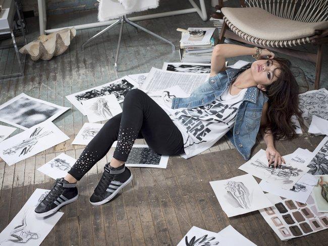 Селена Гомес в промо-фотосессии для марки «Adidas NEO»: selena-gomez-101_Starbeat.ru