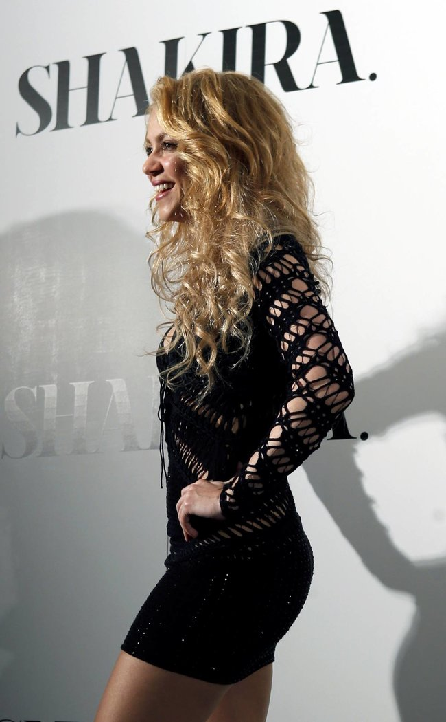 Фотоколл нового альбома Шакиры в Испании: «Shakira»: shakira-1_Starbeat.ru