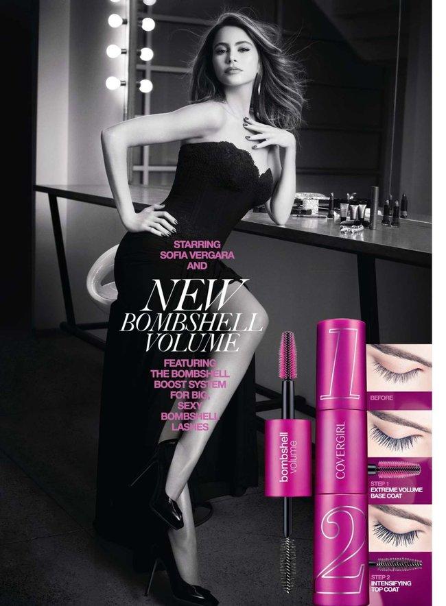София Вергара стала лицом рекламной кампании «Covergirl»: sofia-vergara-covergirl-2014-campaign--01_Starbeat.ru