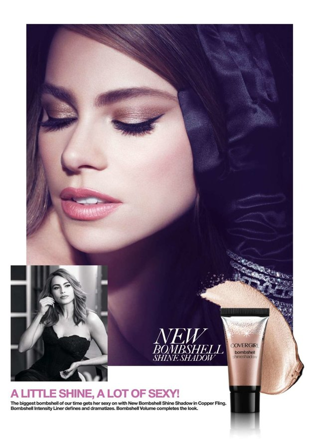 София Вергара стала лицом рекламной кампании «Covergirl»: sofia-vergara-covergirl-2014-campaign--02_Starbeat.ru