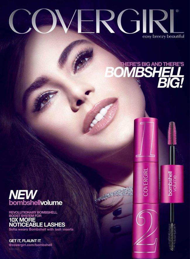 София Вергара стала лицом рекламной кампании «Covergirl»: sofia-vergara-covergirl-2014-campaign--08_Starbeat.ru