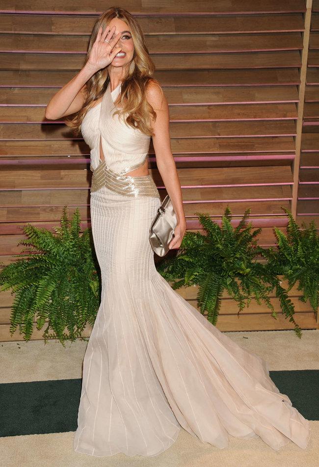 «Vanity Fair Party» в Голливуде: роскошная София Вергара
