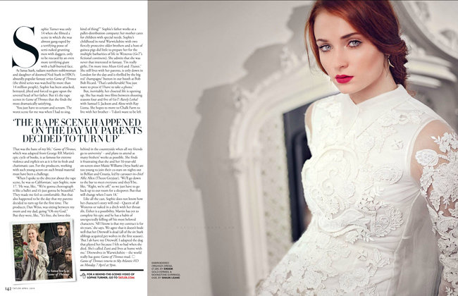 Софи Тернер на страницах журнала «Tatler UK» (апрель 2014): sophie-turner-tatler-uk--01_Starbeat.ru