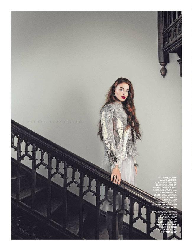Софи Тернер на страницах журнала «Tatler UK» (апрель 2014): sophie-turner-tatler-uk--03_Starbeat.ru