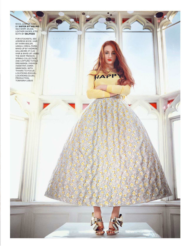 Софи Тернер на страницах журнала «Tatler UK» (апрель 2014): sophie-turner-tatler-uk--04_Starbeat.ru