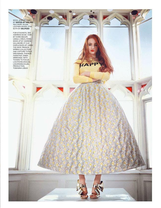 Софи Тернер на страницах журнала «Tatler UK» (апрель 2014): sophie-turner-tatler-uk--04_Starbeat.ru