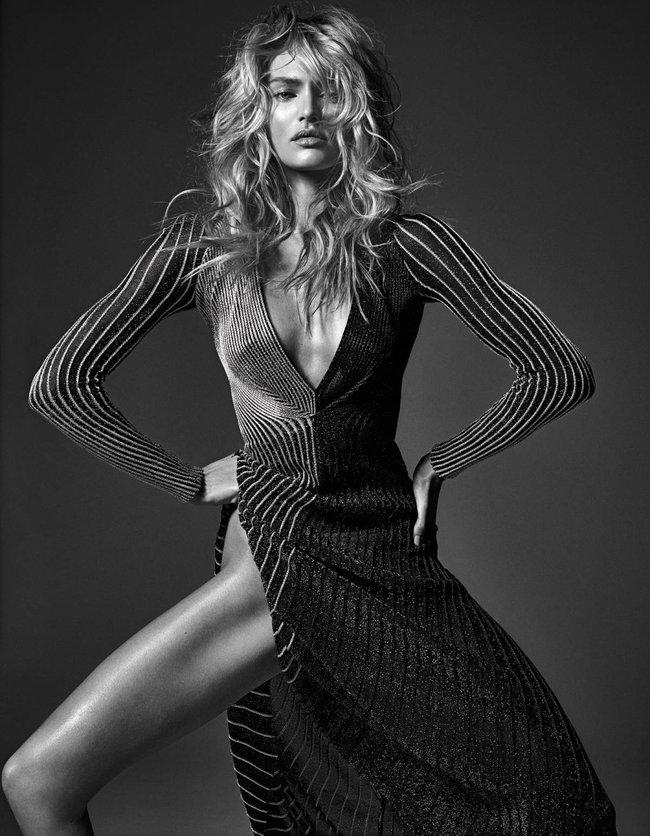 Мартовский номер журнала «W»: «Великолепная десятка моделей»: candice-swanepoel1_Starbeat.ru