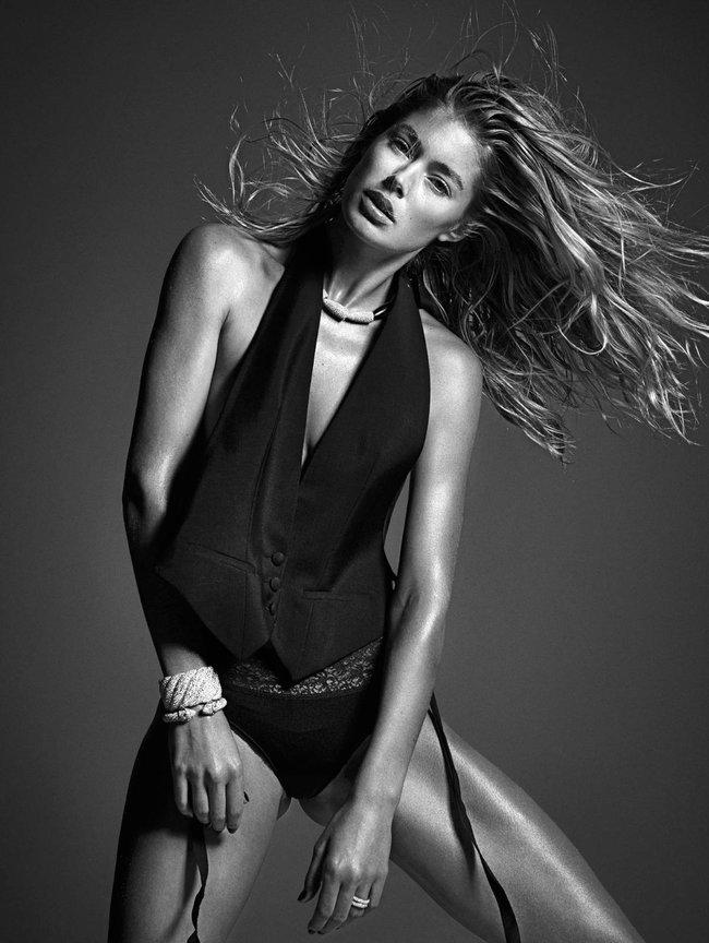 Мартовский номер журнала «W»: «Великолепная десятка моделей»: doutzen-kroes_Starbeat.ru
