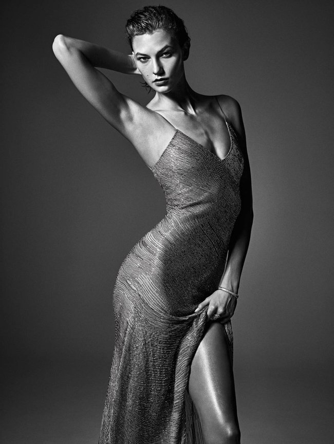 Мартовский номер журнала «W»: «Великолепная десятка моделей»: karlie-kloss_Starbeat.ru