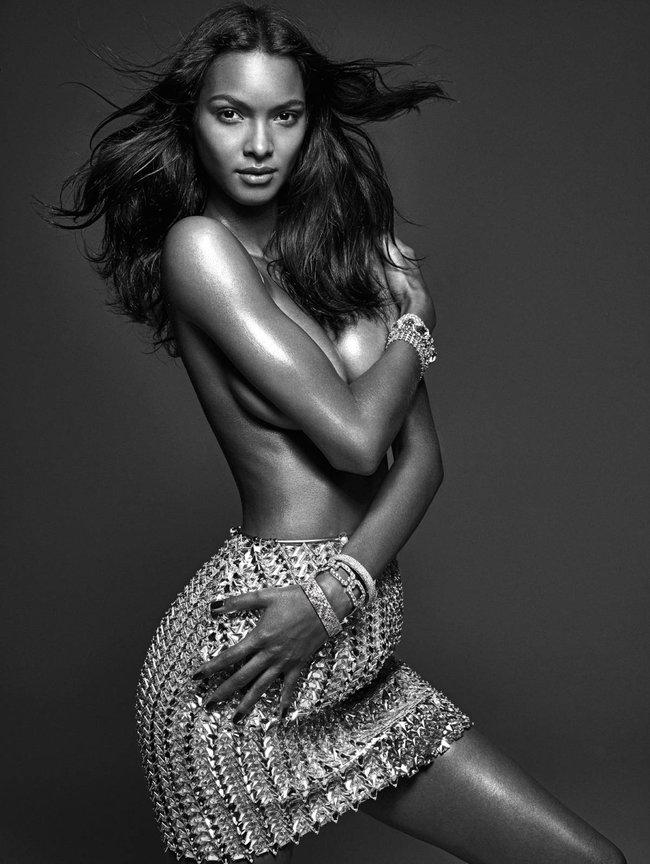 Мартовский номер журнала «W»: «Великолепная десятка моделей»: lais-ribeiro_Starbeat.ru