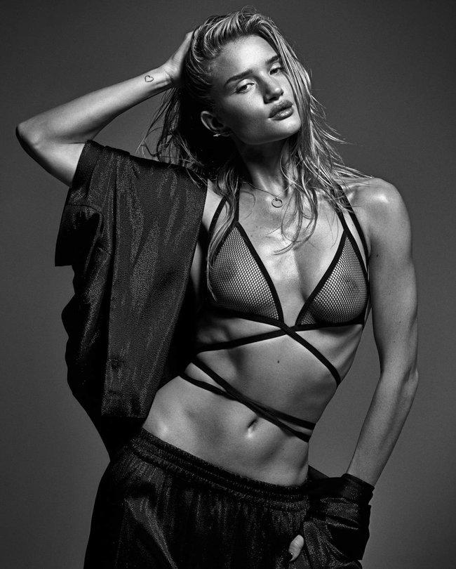 Мартовский номер журнала «W»: «Великолепная десятка моделей»: rosie-huntington-whiteley1_Starbeat.ru