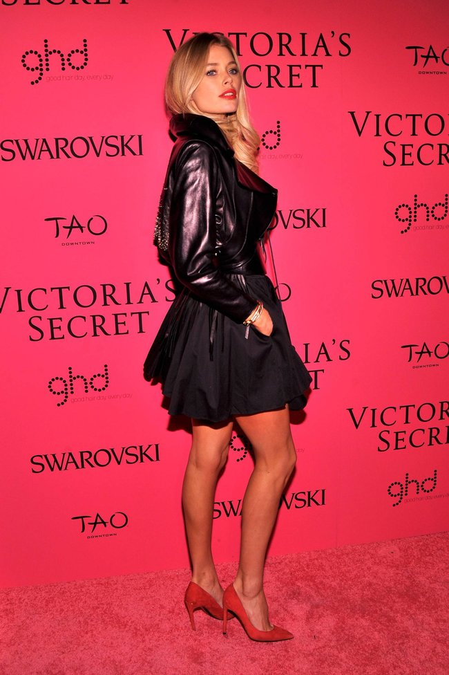 Афтепати модного показа «Victoria's Secret»: модели и гости: doutzen-kroes-22_Starbeat.ru